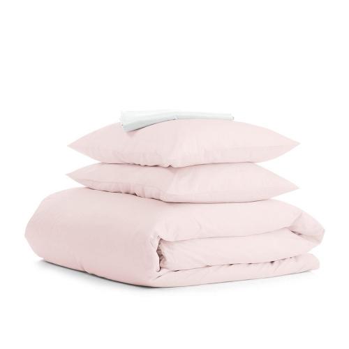 Комплект евро взрослого постельного белья RANFORS ROSE WHITE