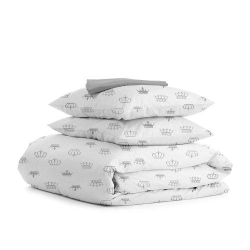 Комплект семейного постельного белья CROWN