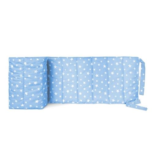 Бортик на детскую кроватку STARFALL LIGHT BLUE