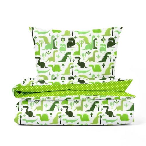 Комплект детского постельного белья DINO GREEN /2 предмета/