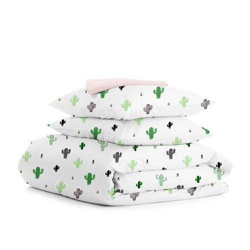 Комплект двуспального постельного белья CACTUS ROSE