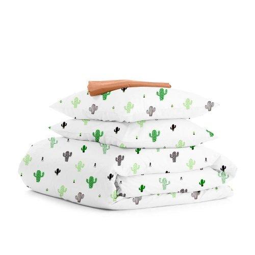 Комплект двуспального постельного белья CACTUS TERRAKOT