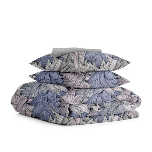 Комплект двуспального постельного белья PETAL GREY