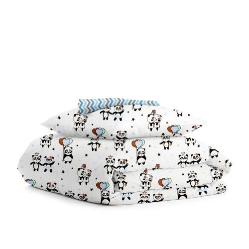 Комплект детского постельного белья PANDA LOVE