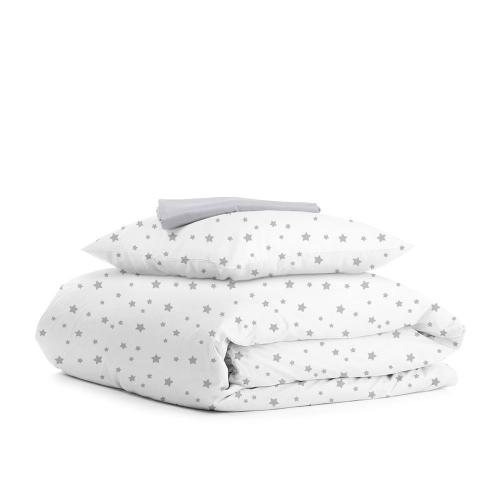 Комплект подросткового постельного белья STAR GREY GREY