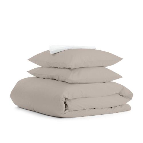 Комплект евро взрослого постельного белья RANFORS QUARTZ WHITE