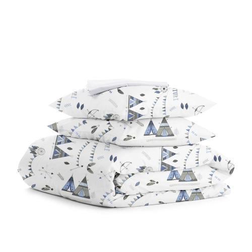 Комплект двуспального постельного белья WIGWAM DREAM WHITE