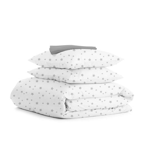 Комплект семейного постельного белья GREY STAR GREY