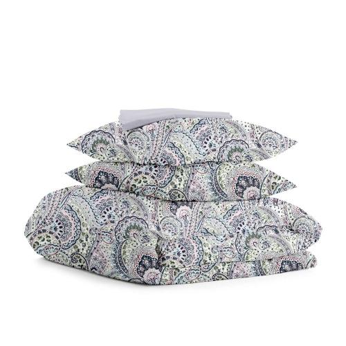 Комплект двуспального постельного белья CUCUMBERS GREY