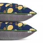 Набор LEMONS /2 декоративные подушки/