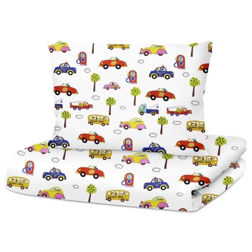 Комплект детского постельного белья CARS STAR BLUE /2 предмета/