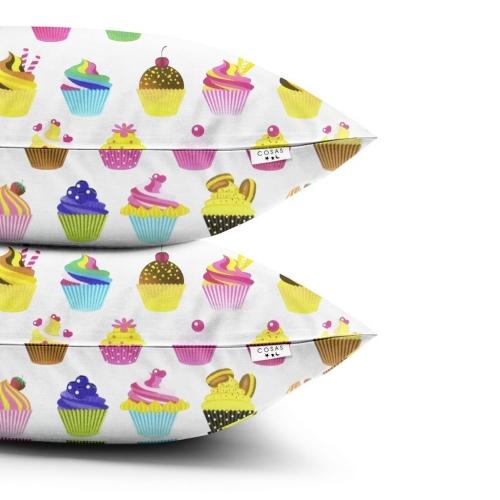 Наволочки набор CAKES