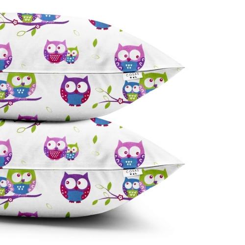 Наволочки набор OWLS