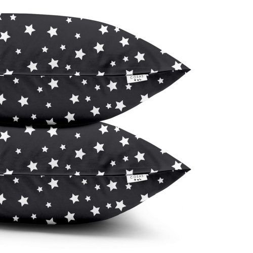 Наволочки набор STARSFALL BLACK