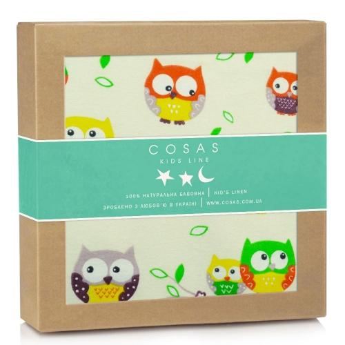 Пеленка фланель OWLS