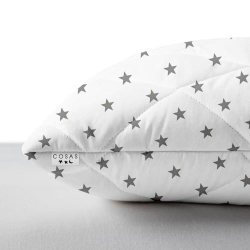 Подушка COSAS детская STAR GREY