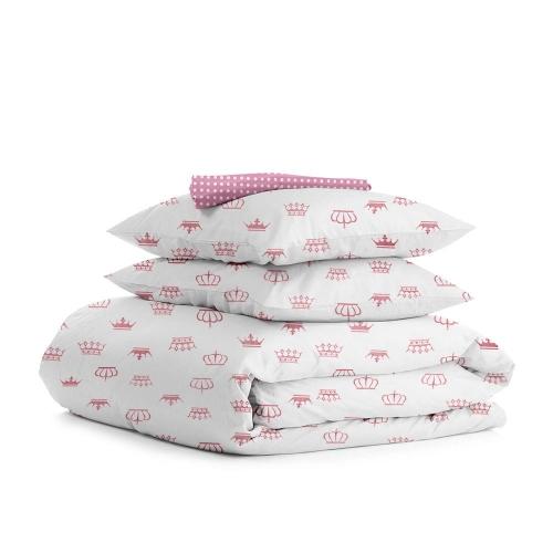 Комплект полуторного постельного белья CROWN ROSE ROSE