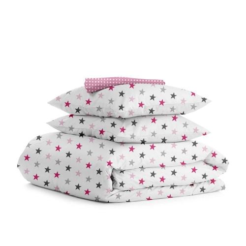 Комплект евро взрослого постельного белья STAR ROSE ROSE