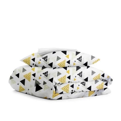 Комплект подросткового постельного белья TRIO YELLOW