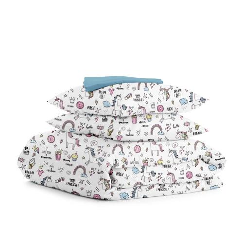 Комплект двуспального постельного белья UNICORN SWEET SKY