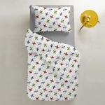 Комплект подросткового постельного белья AIRPLANE UP /серый/