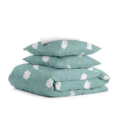 Комплект семейного постельного белья BUSH MINT