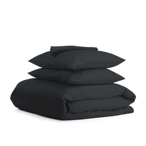 Комплект полуторного постельного белья RANFORS BLACK BLACK