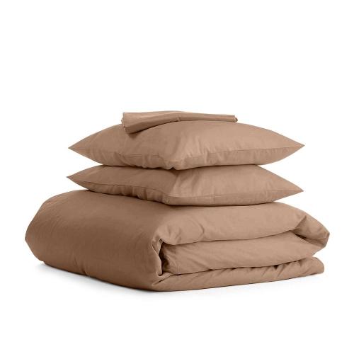 Комплект полуторного постельного белья RANFORS BROWN BROWN