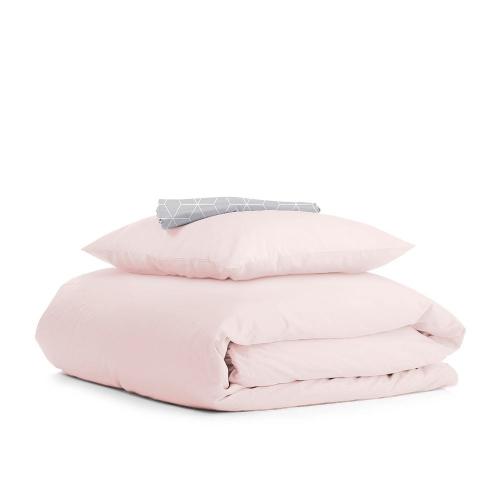 Комплект подросткового постельного белья RANFORS ROSE RHOMB GREY