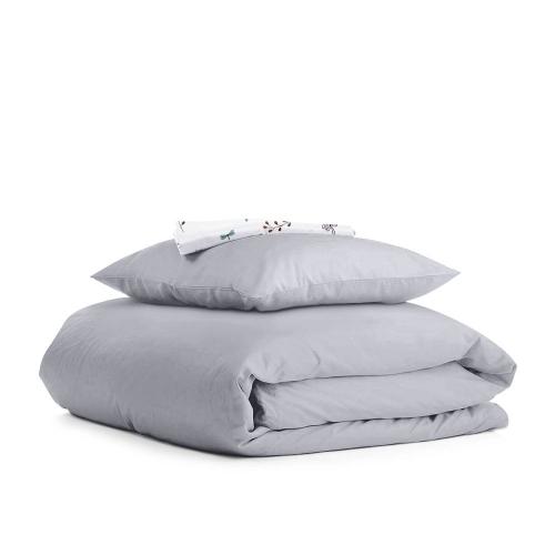 Комплект подросткового постельного белья RANFORS GREY BUSH WHITE