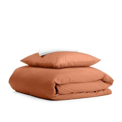 Комплект подросткового постельного белья RANFORS TERRAKOT WHITE