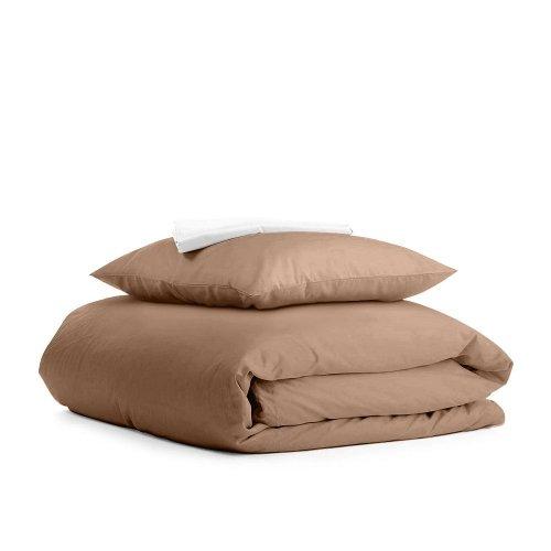 Комплект подросткового постельного белья RANFORS BROWN WHITE
