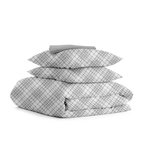 Комплект полуторного постельного белья BRILL GREY