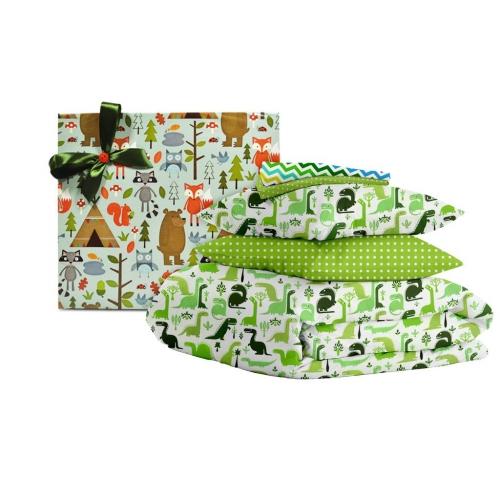 Подарочный набор DINO /зеленый горох/