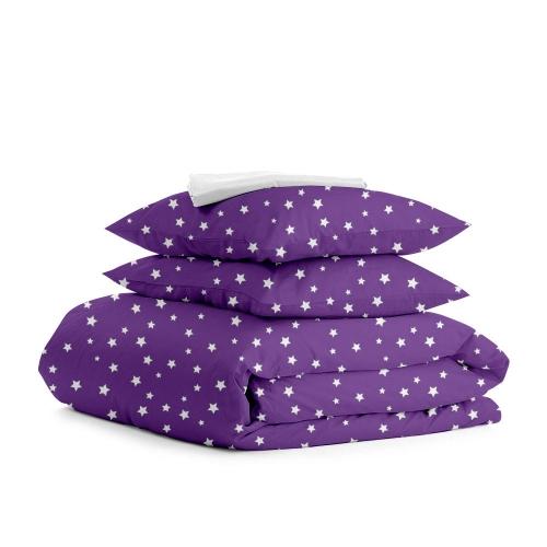 Комплект полуторного постельного белья STARSFALL VIOLET