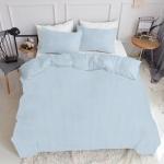 Комплект полуторного  постельного белья CELL BLUE