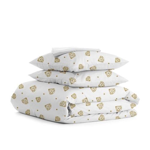 Комплект полуторного постельного белья DIAMANT