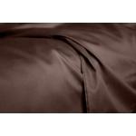 Комплект евро взрослого постельного белья сатин BLACK CHOCOLATE-P