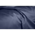 Комплект евро взрослого постельного белья сатин CHOCOLATE BLUE-P