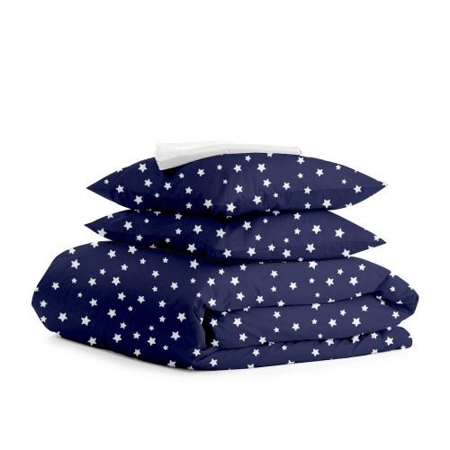 Комплект полуторного постельного белья STARSFALL BLUE