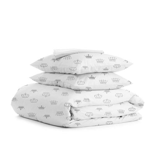 Комплект полуторного постельного белья CROWN