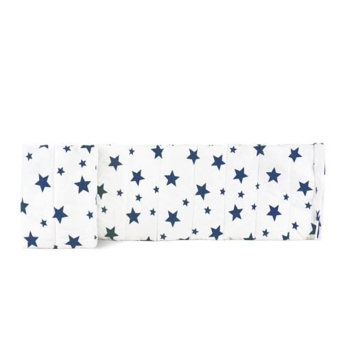 Бортик на детскую кроватку STARS BIG BLUE
